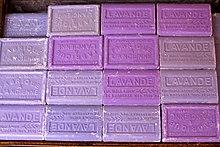 Soap bars with lavender from Provence