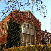 Botany Building in Autumn, University of Melbourne