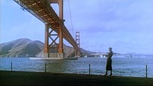 Still image from the film Vertigo
