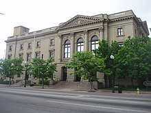 Historic United States Post Office and Courthouse in Ogden, Utah.