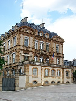 Prefecture building of the Lozère department, in Mende