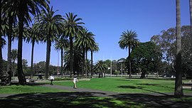 Redfern Park with Redfern Oval in the background (October 2014).jpg