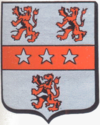 The coat of arms of Aaigem