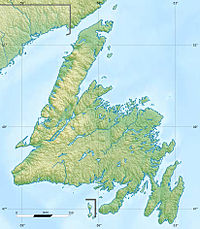 Grand Banks of Newfoundland is located in Newfoundland
