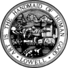 Official seal of Lowell, Massachusetts