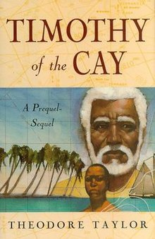 Book cover of Timothy of the Cay.jpg