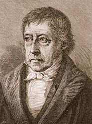 Portrait of Hegel by an unidentified artist