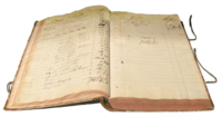 Early 19th-century German ledger